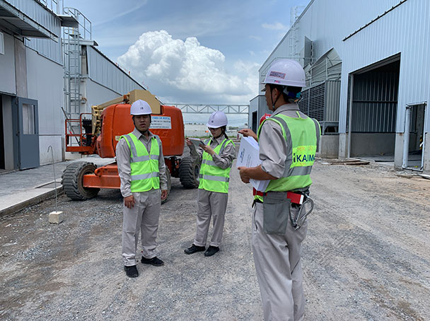 thực tập quản lý thi công xây dựng tại ACT Engineering Việt Nam